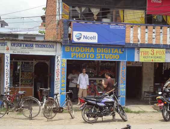centro de Lumbini, Nepal