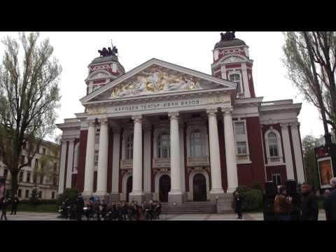 Vídeo de concerto no Teatro Nacional de Sofia, Bulgária 1