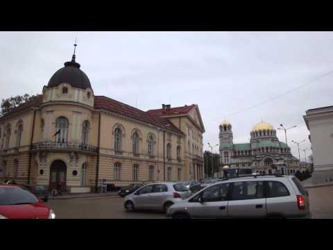 Vídeo da Praça Tsar Osvoboditel, Sofia Bulgaria 2