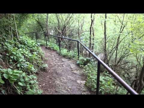 Vídeo de subir as escadas até Mosteiro Ivanovo, Bulgária 8