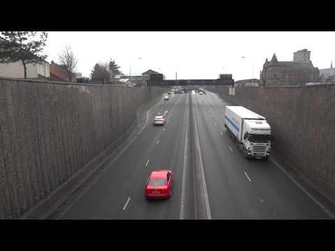 Vídeo da estrada em Belfast, Irlanda do Norte 4