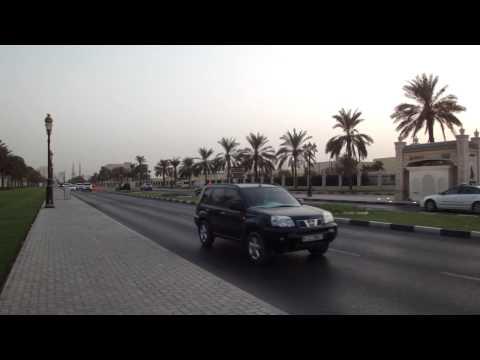 Vídeo da Avenida Corniche em Sharjah, Emirados Árabes Unidos 3