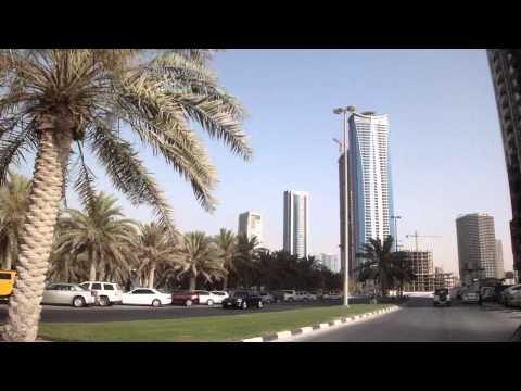 Vídeo conduzir em Sharjah, Emirados Árabes Unidos 3