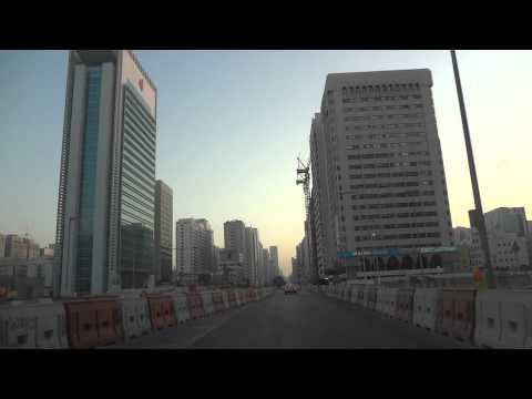 Vídeo conduzir centro de Abu Dhabi, Emirados Árabes Unidos 2