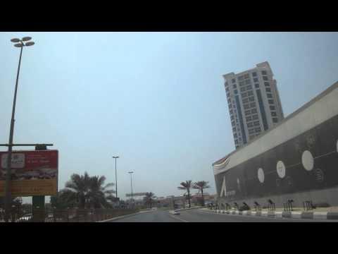 Vídeo conduzir chegada a Ajman, EAU 3