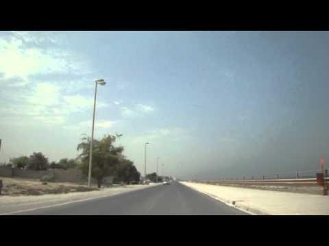Vídeo conduzir na Corniche de Umm Al Quwain, EAU 1