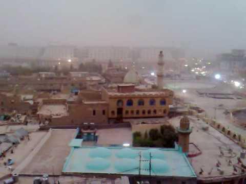 Vídeo do Muezzin chamada em Erbil, Região do Curdistão, Iraque 2