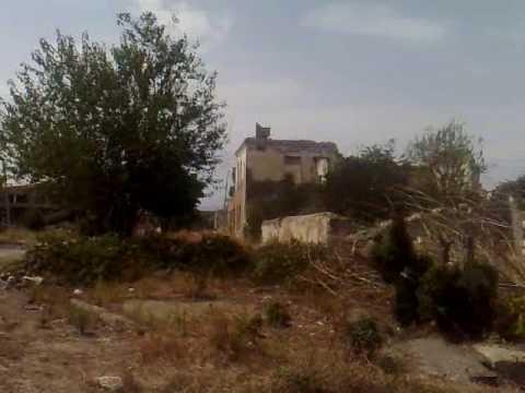 Vídeo conduzir em Agdam cidade fantasma no Alto Carabaque 3