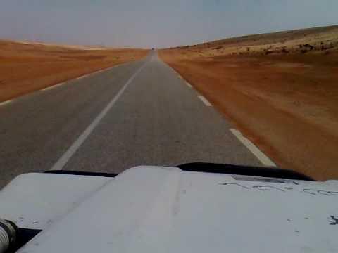 Videos Estrada do deserto desde Nouakchott até Nouadhibou, Mauritânia 1