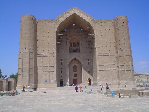 Mausoléu de Khoja Ahmed Yasawi, UNESCO Turkestan Cazaquistão 1