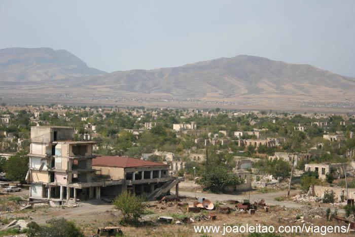 Agdam cidade fantasma na zona disputada do Nagorno Karabakh 3