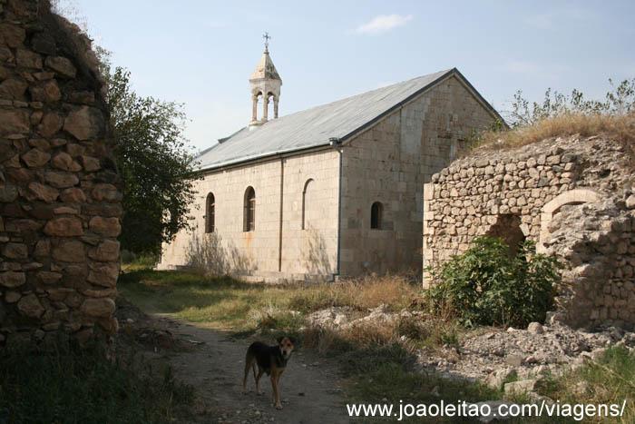 Mosteiro Arménio de Amaras na Aldeia Sos no Alto Carabaque 2