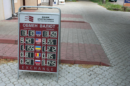 Preços em Tiraspol, Pridnestróvia 1