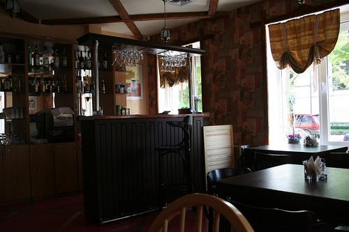 Restaurante Kroton Café Bar em Tiraspol, Pridnestróvia Transnístria 1