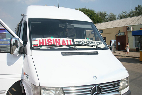 BUS Marshrutka Odessa até Chisinau, Transporte Ucrânia até Moldávia 61
