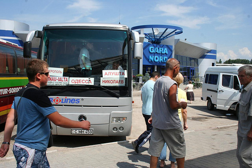 Autocarro Chisinau até Odessa, Moldávia até Ucrânia 4