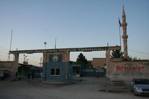 Autocarros em Nusaybin, Transportes na região curda da Turquia 1