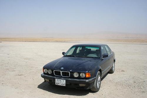 Táxi de Erbil até Dohuk, BMW Privado Transporte no Iraque 3