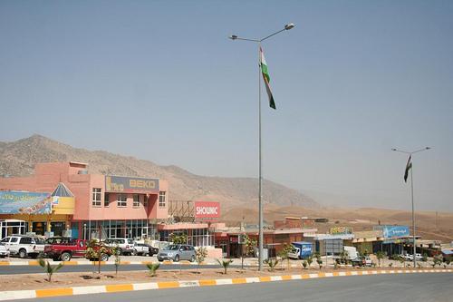 Viajar à Boleia no Curdistão, Iraque 2