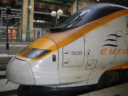 Comboio Londres até Paris e Bruxelas, Eurostar 1