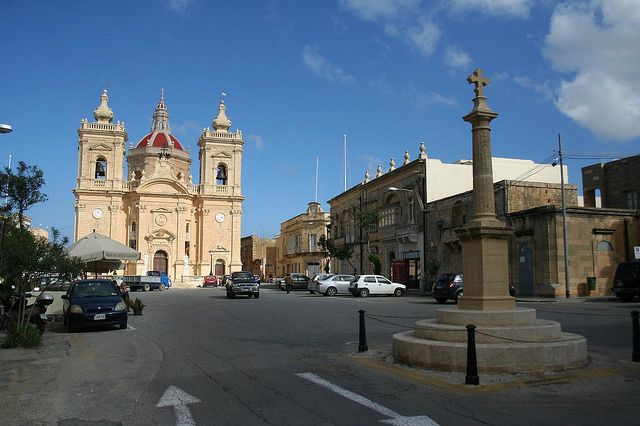Monumentos em Xaghra, Gozo Malta 1