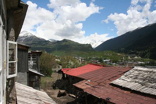 Hotel em Mestia aldeia UNESCO nas montanhas, Geórgia 2