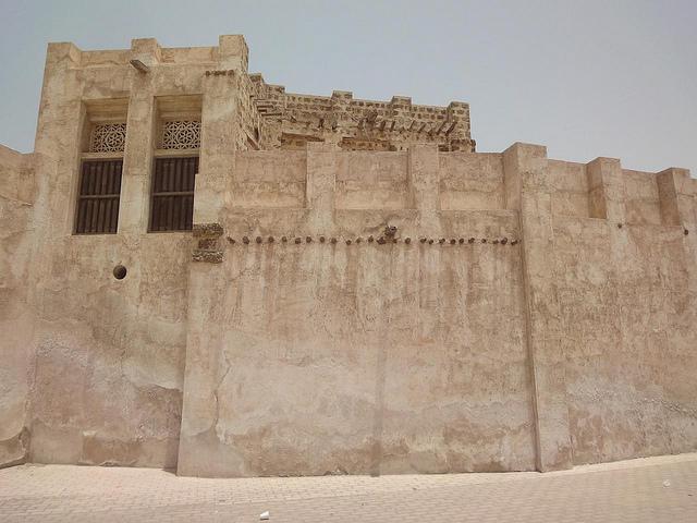 Fotografias da zona antiga de Sharjah Old Heritage Area, EAU 17