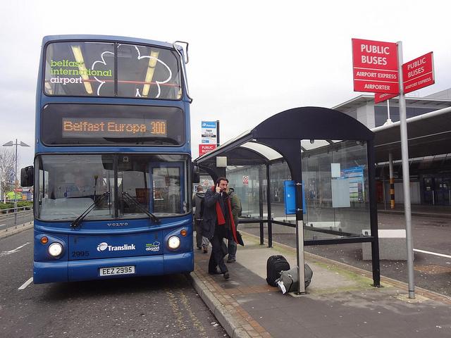 Autocarro Aeroporto de Belfast até centro da cidade, Irlanda do Norte 21
