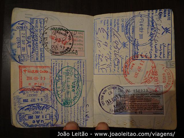 3º Passaporte 27 de Março de 2007 - Carimbos Passaporte 1