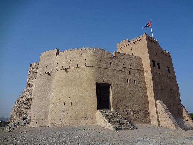 Fotografias Forte de Fujairah, Emirados Árabes Unidos 41