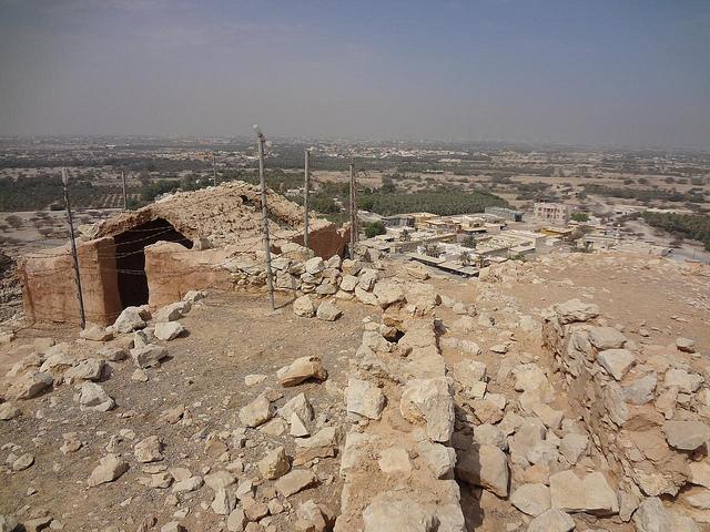 Ruinas de Shamal e Palácio da Rainha de Sabá, Ras Al Khaimah, EAU 44