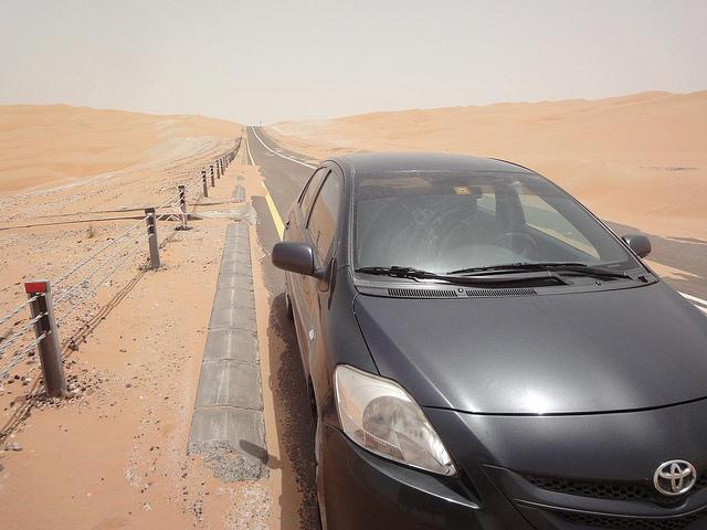 Vídeos guiar no deserto até à grande Duna de Tal Mireb, Emirados Árabes 2