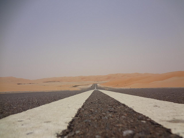 Fotografias Grande Duna de Tal Mireb, Emirados Árabes 2