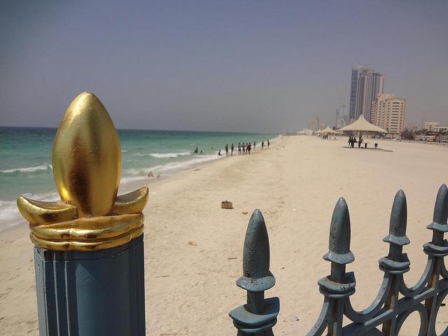 Fotografias da Praia em Ajman, Emirados Árabes Unidos 21