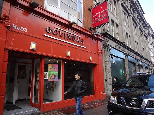 Restaurante Govinda's em Dublin, Irlanda 4