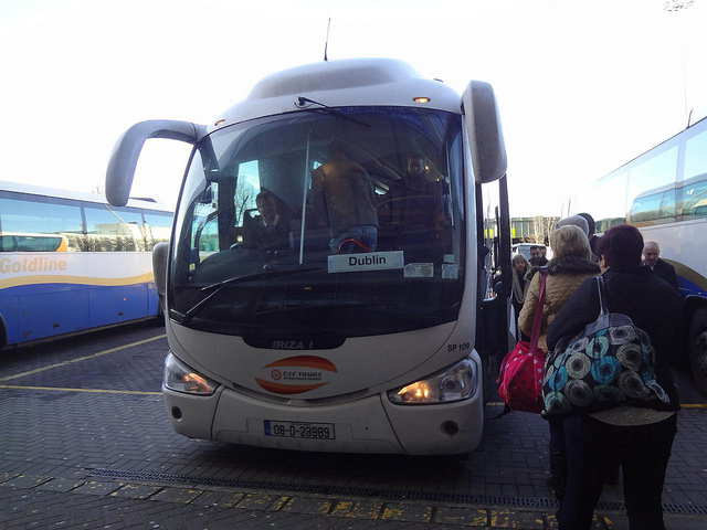 Autocarro desde Belfast até Dublin, Irlanda do Norte até Irlanda 2