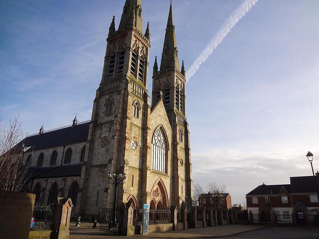 Catedral de São Pedro em Belfast, Irlanda do Norte 1