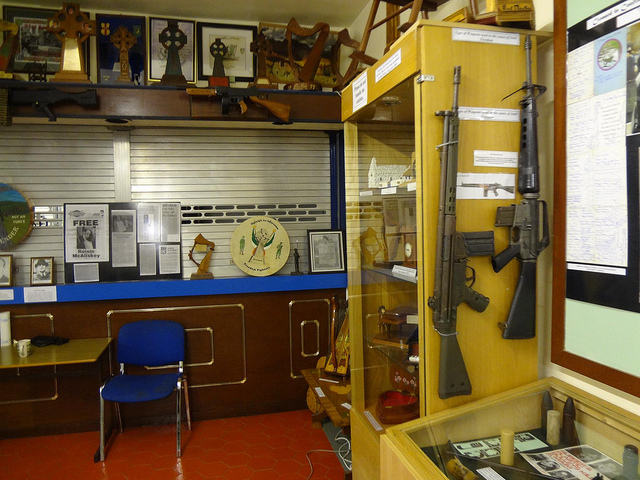 Museu de História Republicano Irlandês em Belfast, Irlanda do Norte 20
