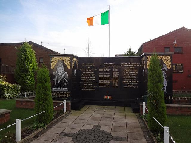 Jardim da Memória, Bairro Católico de Falls em Belfast 19