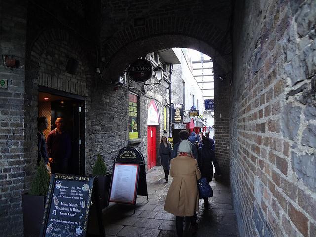 Fotografias do Bairro Temple Bar em Dublin, Irlanda 21