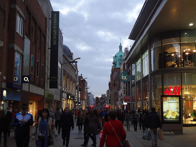 Fotografias de Dublin by Night, Irlanda 1