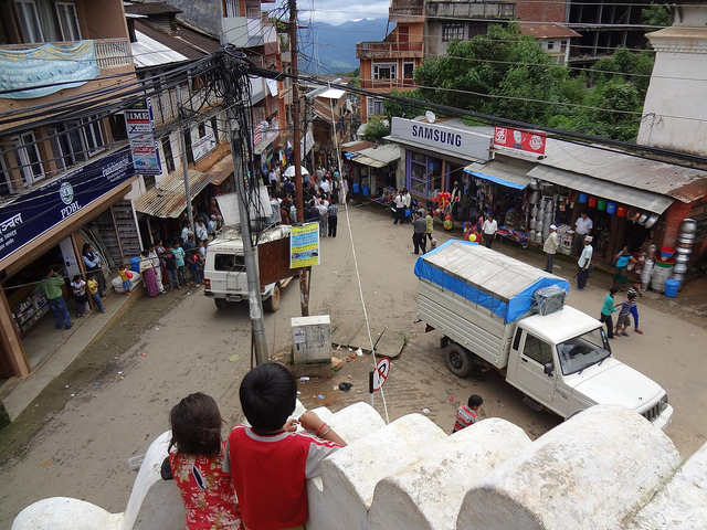 Fotografias da cidade de Tansen, Nepal 1