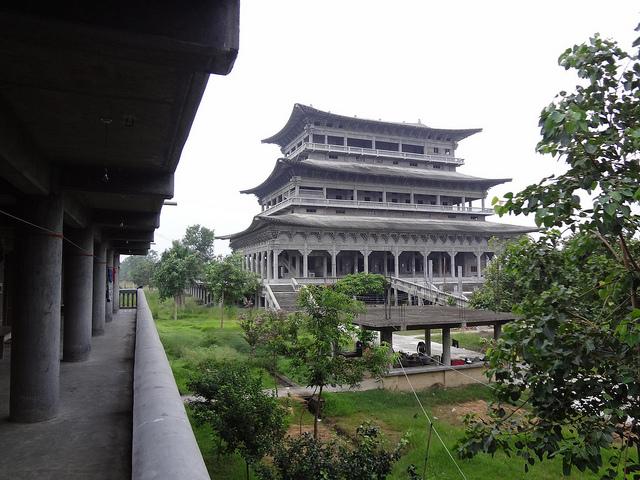Alojamento no Mosteiro Budista Coreano, Lumbini Nepal 2