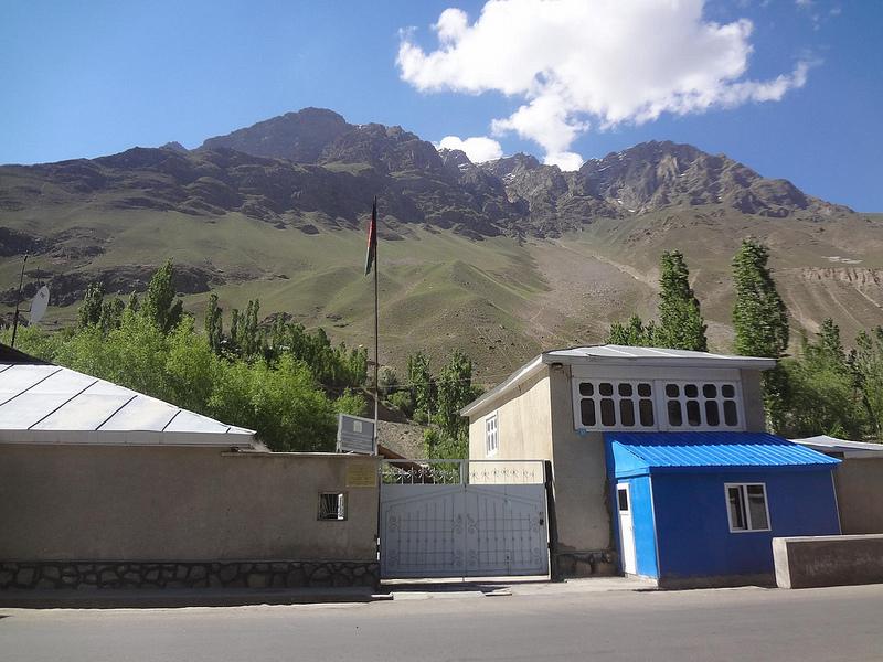 Visto para o Afeganistão em Khorugh, Tajiquistão 8