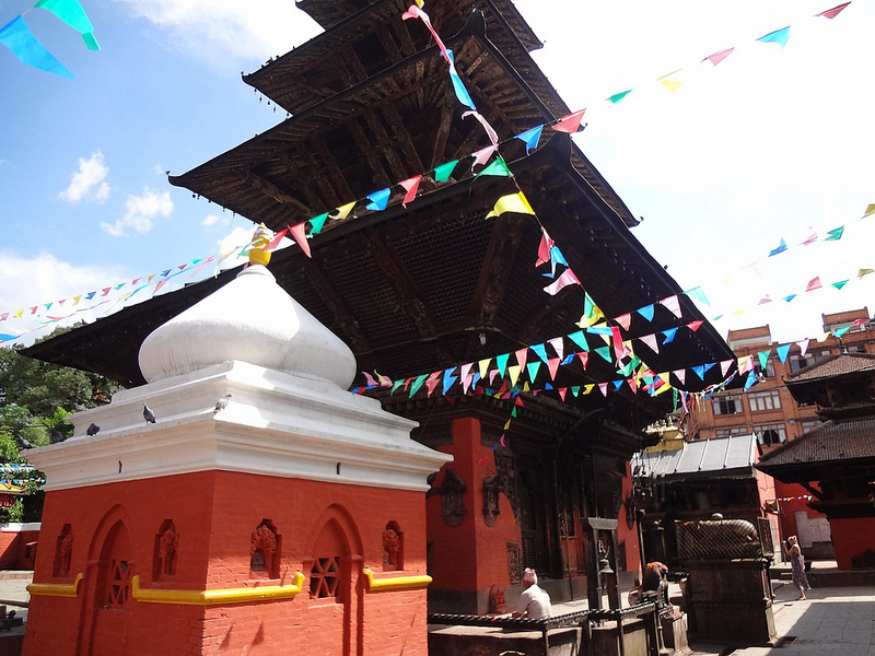 Templo de Kumbeshwar em Patan, Nepal 1
