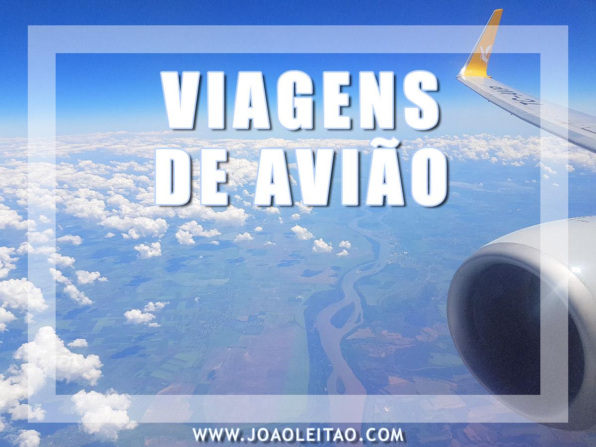 VIAGENS DE AVIÃO