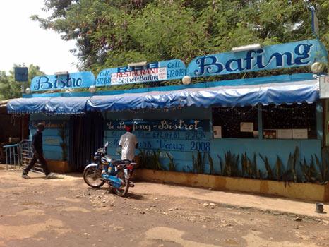 Bistro Bafing, Restaurante em Bamako, Mali 3
