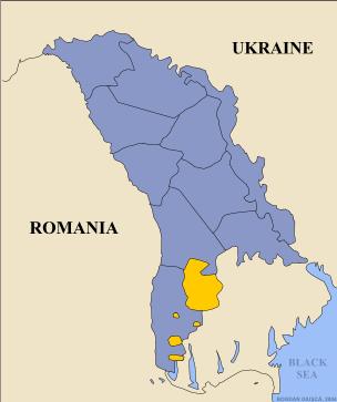Mapas da Região Autónoma da Gagaúzia 6