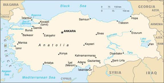 Mapas da Turquia 20