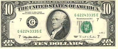 Presidente Alexander Hamilton.